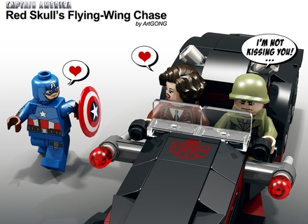 Lego peg& steve