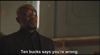 Nick Fury Ten Bucks