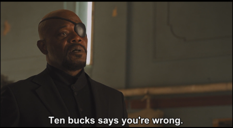 Nick Fury Ten Bucks
