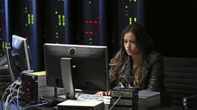 """MARVEL'S AGENTS OF S.H.I.E.L.D. - """"Girl In The Flower Dress""""- An elusive girl in a flower dress may hold the key to the mystery that brings Coulson and team to Asia to rescue a young man with an unusual and dangerous power. Meanwhile, Skye has a secret that jeopardizes her relationship with the team right when they need her most, on """"Marvel's Agents of S.H.I.E.L.D.,"""" TUESDAY, OCTOBER 22 (8:00-9:01 p.m., ET) on the ABC Television Network. (ABC/Justin Lubin) CHLOE BENNET"""