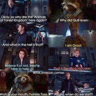 guardians avengers