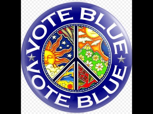 vote blue