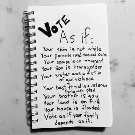 vote as if